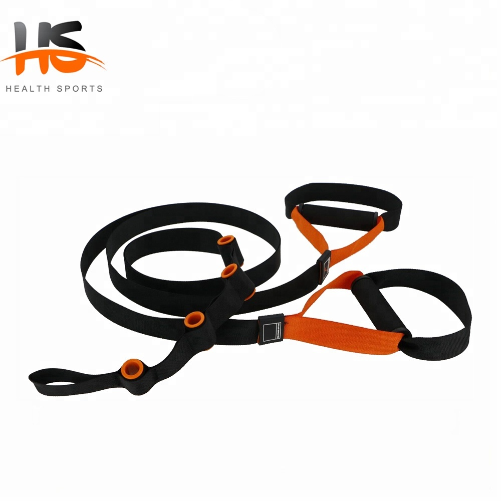 High quality suspension trainer straps for training exercise
