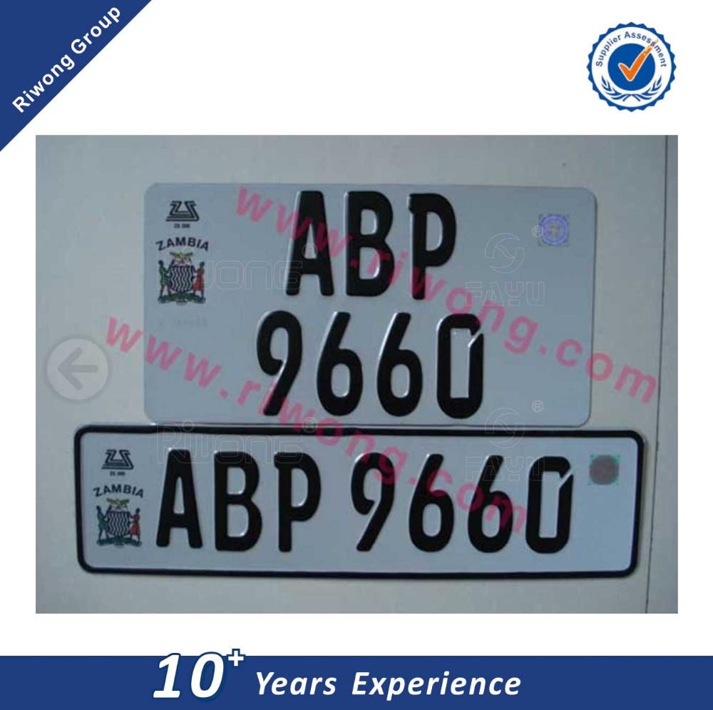 Neue Stil Autokennzeichen Für Aluminium Nummernschild Mit ...