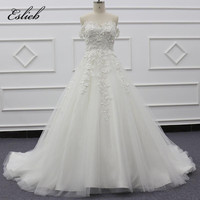 Sweet hot selling off the shoulder A-line half backless ivory boho wedding dress for ball gown wedding