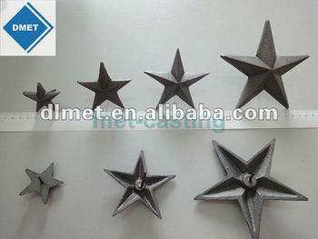 Iron Casting Hanging Decorative Metal Stars - Buy Hanging ...