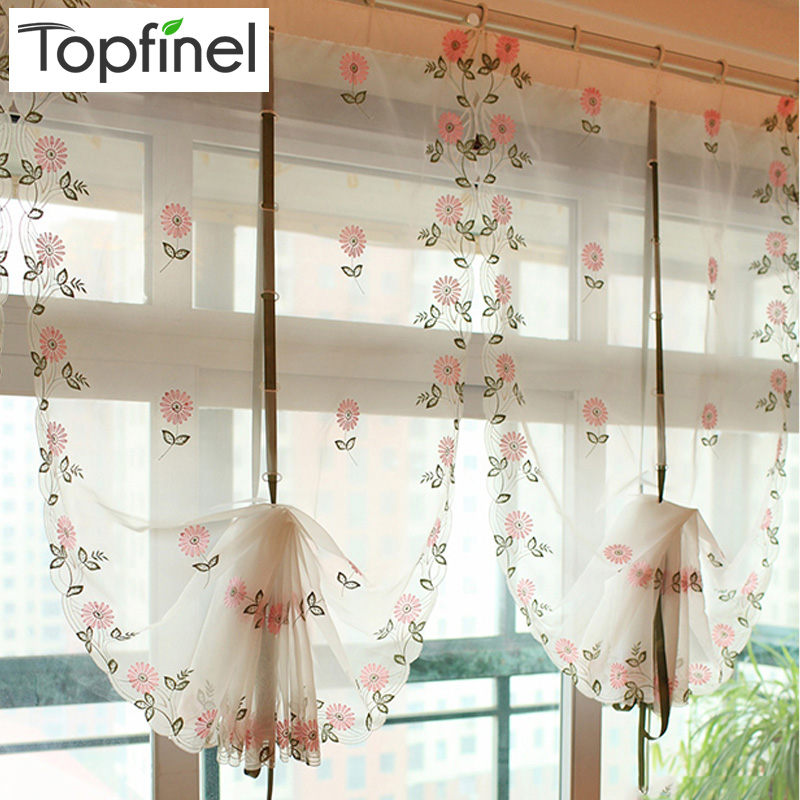 Aliexpress.com : Buy Hot Sale Floral Tulle For Windows In