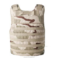 Custom outdoor bullet proof tactical vest kevlar anti-stab aramid bulletproof vest