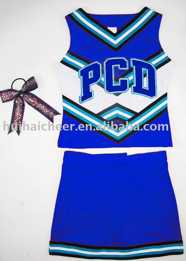 2016 cheerleading uniforme