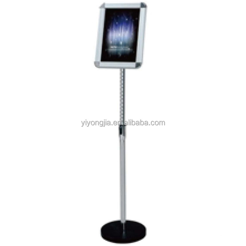 Telescopic sign stand restaurant free standing sign board