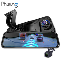 Camera car with 4G ADAS GPS Navigation+2 ways installation+Two way wifi connection+Bluetooth+Rearview mirror dvr