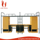 new design commercial furniture metal bunk bed replacement parts