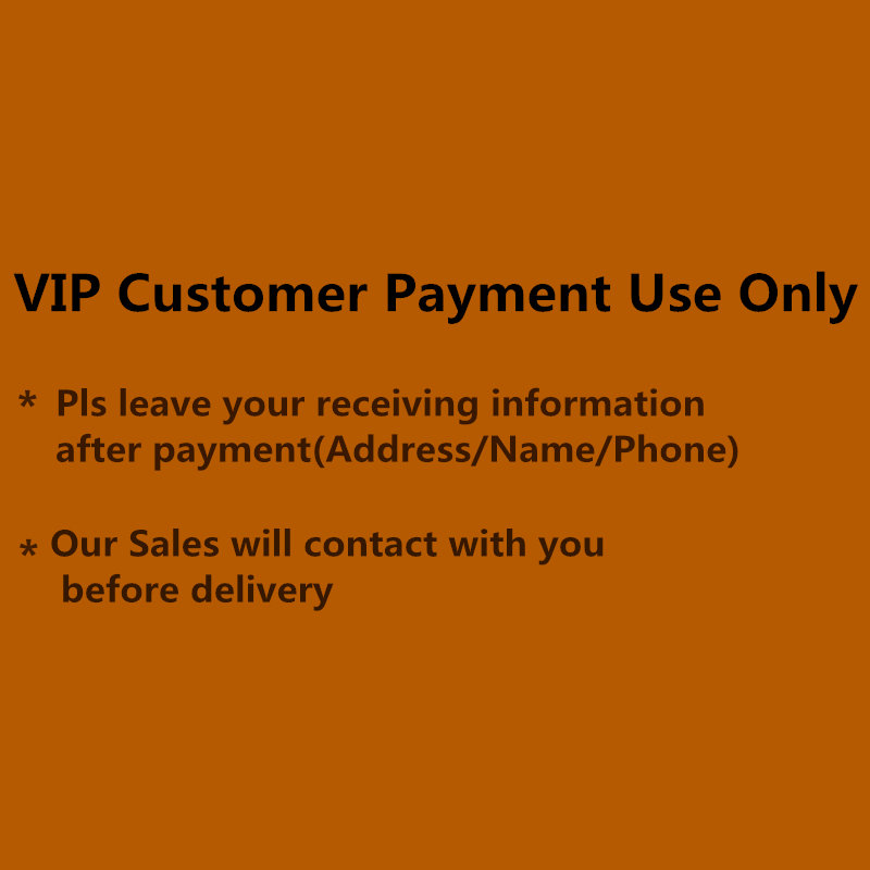 For VIP Customer Payment фото