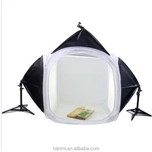 Table Top Photo Studio Photography Softbox Light Tent Cube Soft Box kit with light stand and 50*70cm softbox