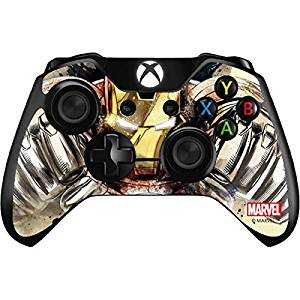 Marvel Ironman Xbox One Controller Skin - Ironman Flying Vinyl Decal Skin For Your Xbox One Controller