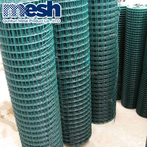 12.5 gauge galvanized After Welded Vinyl Coated Wire Mesh