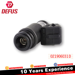 China Supplier Fuel Injector 160CC 021906031D For VW Eurovan Golf Jetta 2.8V6 Injector Fuel 021906031d