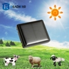 solar wireless charging solar powered pet personal cows sheep gps tracker
