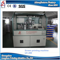 China Manufacturer Productions Multi-function Cosmetic Glass Bottle Automatic Silk Screen Printing Machinery