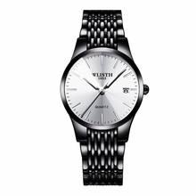 WLISTH Топ бренд Роскошные мужские часы водонепроницаемые деловые часы Мужские кварцевые ультра-тонкие наручные часы Мужские часы Rolex_watch(Китай)