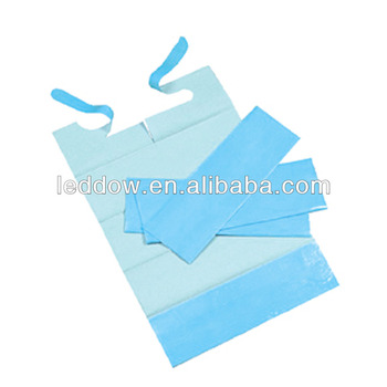 Disposable Adult Bib with Pocket Disposable Bib with Pocket disposable apron