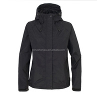 Top Quality Factory Price Black Waterproof Hood Rain Jacket rain jackets for men rain jackets online