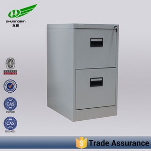China luoyang factory cheap office metal 2 drawers file cabinets/bulk office hanging storage file cabinet/ filing cabiet