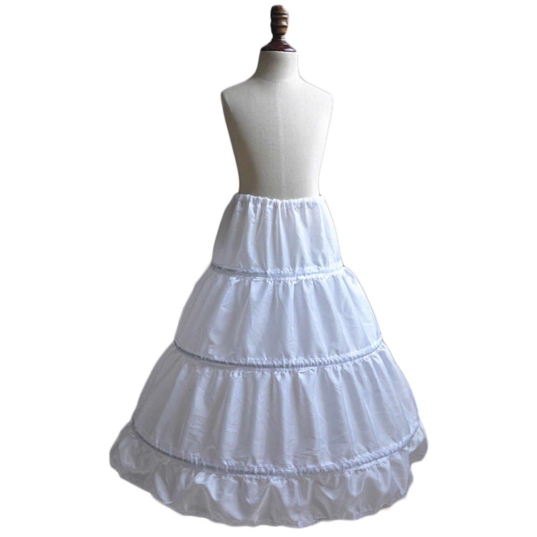 Dearta Children Half Slips Flower Girls Dresses Princess Petticoats
