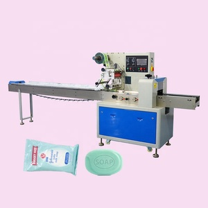Bar soap flow packing machine