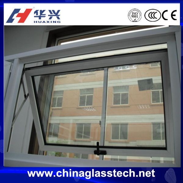PVC / UPVC Profile Top Hung Bottom Hung Middle Hung Casement Window