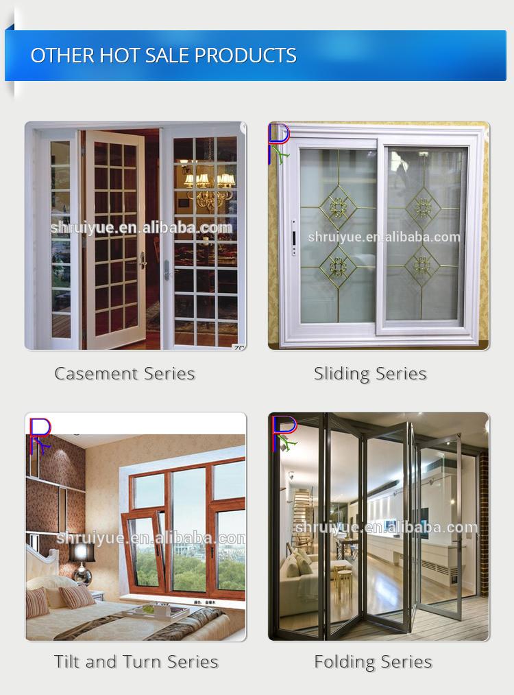 Open Inside Small Double Glazed Window Casement Upvc Vinyl