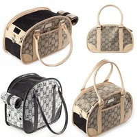 Outdoor pet dog bike basket dog carrier