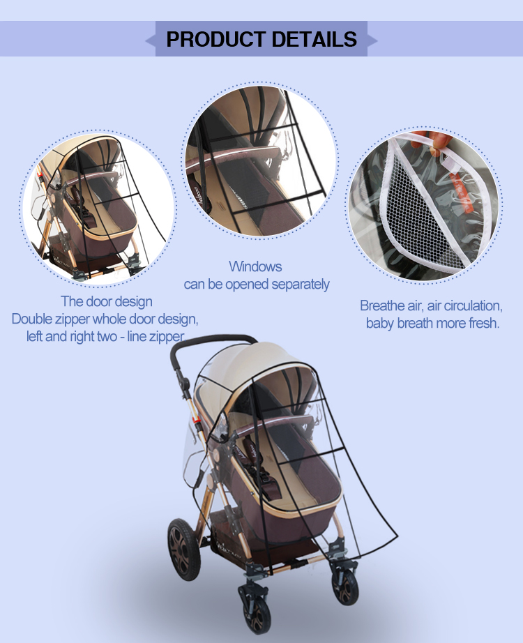 Baby trend sit n stand orbit stroller rain cover for baby stroller