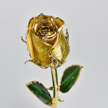 Factory Price 24k Gold Plated Bud Rose