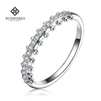 Wholesale Best Quality Cheap 925 Silver Ring Design for Girl