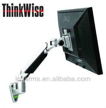 adjustable vesa wall mount bracket lcd monitor arm office supplies flexible computer monitor