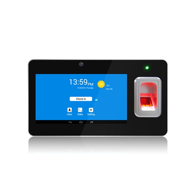 3.5'' TFT LCD  wireless GPRS & TCP biometric sensor fingerprint door access control  (TFT600/gprs)