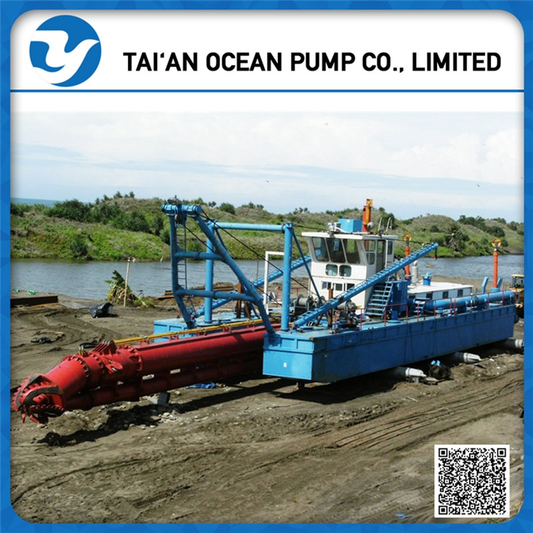 "18""inch Hydraulic Cutter Sand Suction Dredger ship"