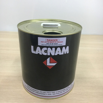 1 gallon paint tin can with plastic drummade in china