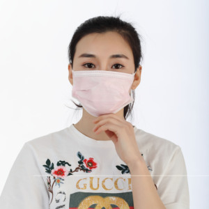 Disposable nonwoven 3ply disposable medical face mask