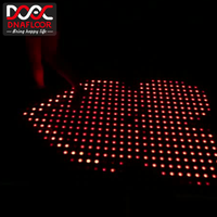 New design dmx starlit digital interactive led dance floor disco panels star light up portable pixel with good price