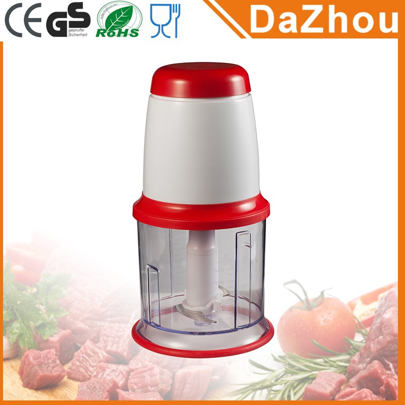 Manufacturer Directly 0.5L CAPACITY Food And Vegetable Cutting Electric mini Meat Chopper Machine