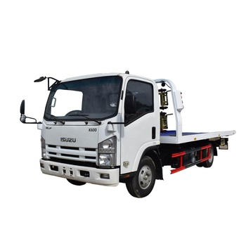 Japanese Brand I-suzu Flatbed Tow Truck Wrecker Tow Truck Japan  for Sale