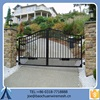 2015 New Design Salable Useful Automatic Metal Gate For Garden Factory