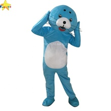 Funtoys CE Blue Sea Lion <span class=keywords><strong>Kostum</strong></span> Cosplay Mascotas <span class=keywords><strong>Komersial</strong></span>