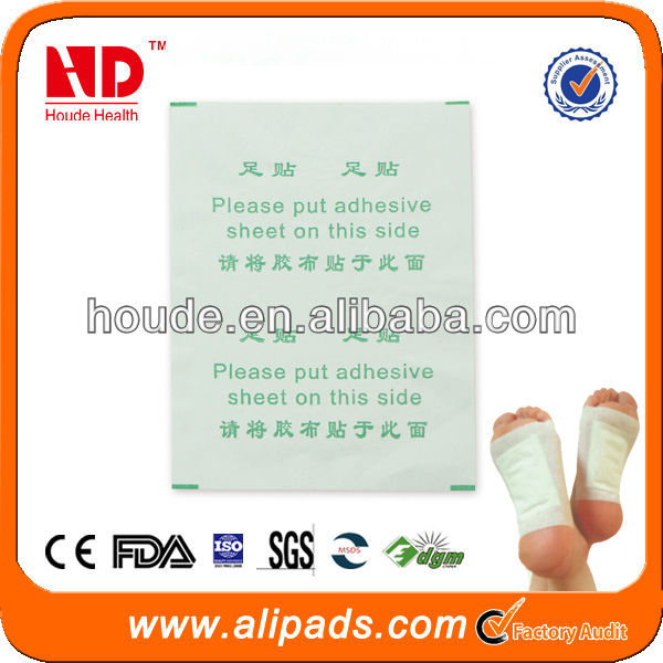 FDA qualified detox foot patch,10 pcs/box,paypal/aliescow is ok,KINOKI,JUNGONG