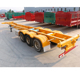 Skeleton Semitrailer Used Container Chassis for Sale from JINDA