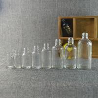New 5ml 10ml 15ml 20ml 25ml 30ml 50ml 60ml 100ml glass dropper bottles cosmetics for e liquid