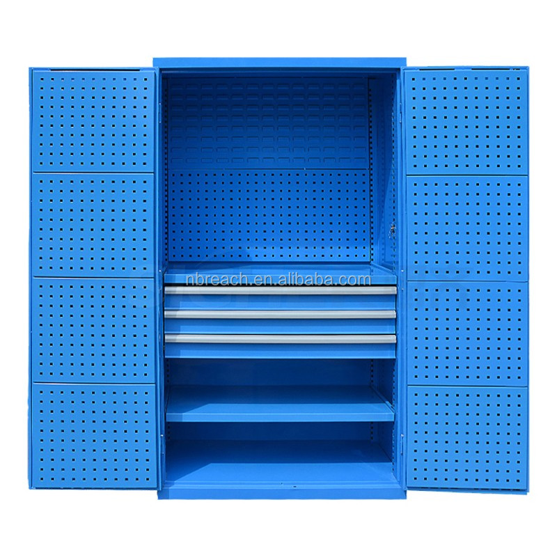 Iron Heavy Duty Storage Cabinet With Plastic Bins Locker Tool Steel Content Ark Product On Alibaba