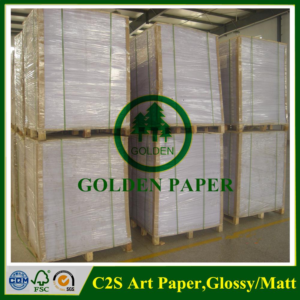 coated 2 side matt art paper use in book brochure - Buy matt paper