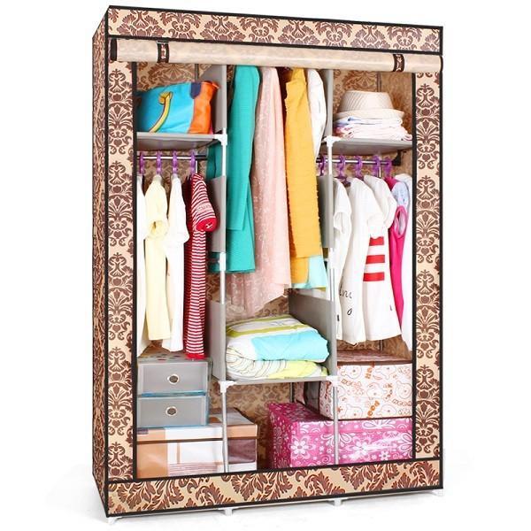 S7 portátil barato dormitorio armario muebles para el hogar armario ...