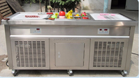 Factory Supply manual fried/roll fried ice cream machine