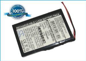 Battery2go - 1 year warranty - 3.7V Battery For Blaupunkt DSNA001, Navi GPS, TravelPilot Lucca 3.3