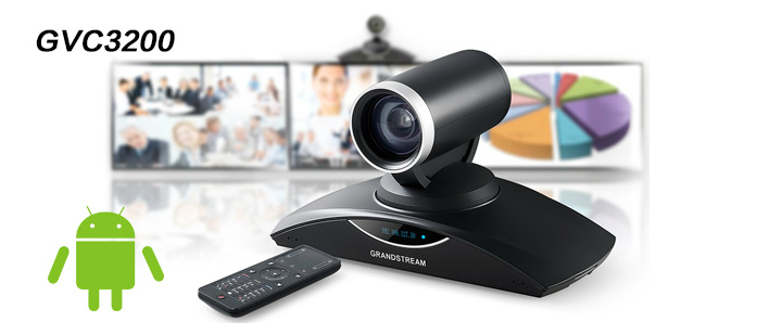 grandstream gvc3200 digitale hd video conference camera systeem