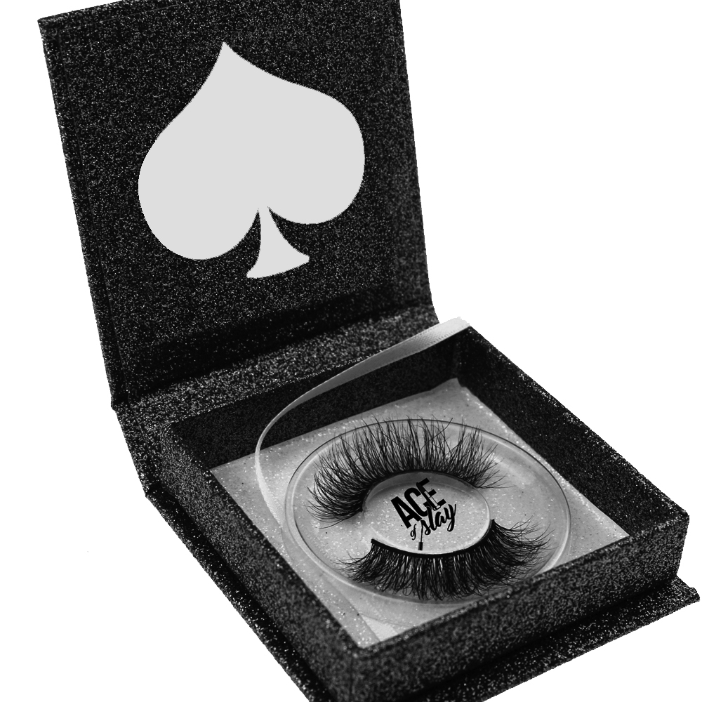 Wholesale synthetic 3d mink lashes with custom logo private label 3d silk strip lashes packaging box faux mink false eye lashes