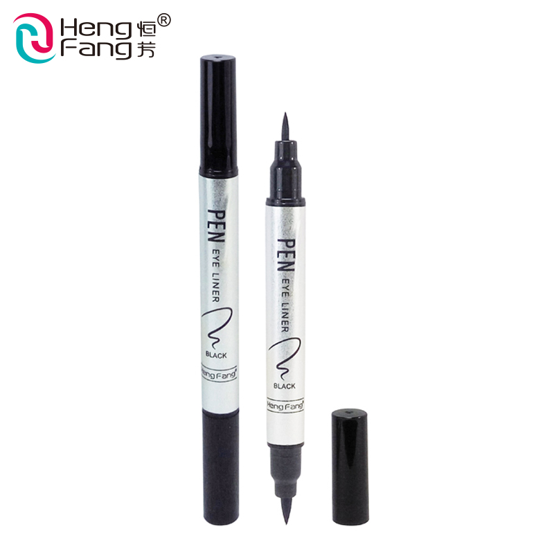 New Fashion Top Quality  Cosmetic Soft Non-Smudge Waterproof Double-End Kajal Eyeliner